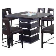 Global Furniture Usa G072bt Square Bar Table In Wedge Dining Tables