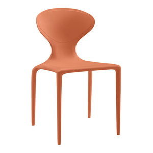 Draw Dining Side Chair, Orange By Modway Looking For Dark Blue And Beige  Patterned Armchair In The Living Room Thursday September 20 2018