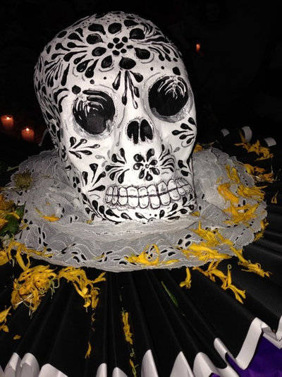 Epic Houzz Call Show Us Your Home Decked Out for Day of the Dead