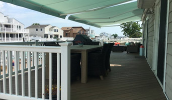 Retractable Awnings over Back Deck