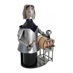 Wine Taster, Female Metal Wine Caddy