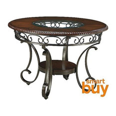 Ashley Glambrey Round Dining Room Table, Brown