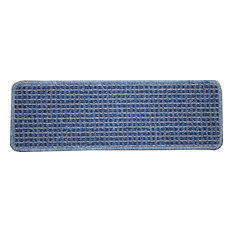 Washable Non-Skid Carpet Stair Treads - Michelle Blue (13)