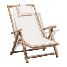 vidaXL Deck Chair Bamboo