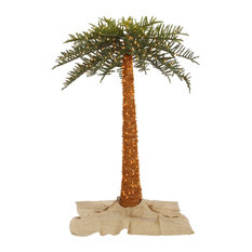 Out Royal Palm Tree, Dura-Lit LED 650 Warm White, 8'