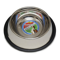 Hilo 57616 Non-Skid Pet Feeding Dish, Stainless Steel, 16 Oz