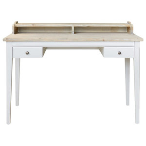 Baumhaus Signature Grey Desk/Dressing Table