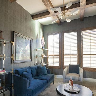 Inspiration for a coastal home design remodel in Houston