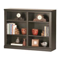 Eagle Furniture - Double Wide Bookcase, Antique Black - Bookcases