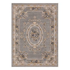 "Well Woven Timeless Gray Area Rug, 6'7""x9'3"""