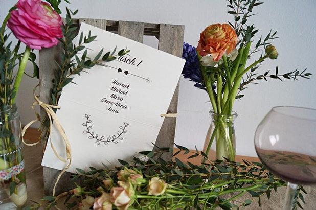Tischdeko Zur Hochzeit Diy Ideen Im Boho Stil