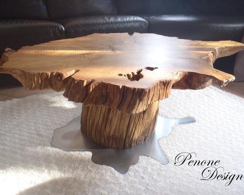 table basse tronc d 39 arbre. Black Bedroom Furniture Sets. Home Design Ideas
