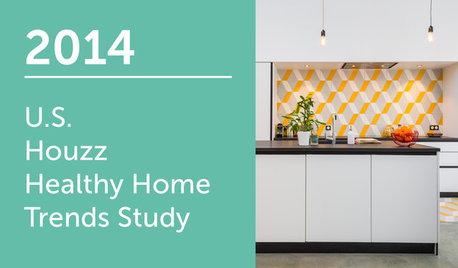 2014 U.S. Houzz Healthy Home Trends Study