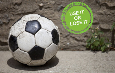 Declutter Now: Lose That Old Sports Equipment