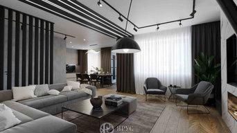 Дизайн-проект четырёхкомнатной квартиры