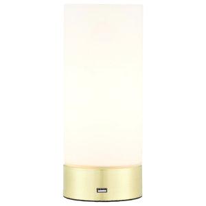 Dara Dual Purpose Table Lamp, Brushed Brass