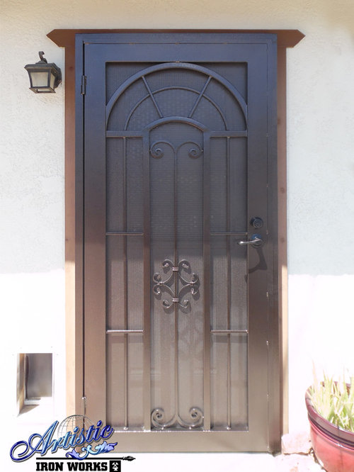 Dixie   Wrought Iron Security Doors   Home Security And Surveillance
