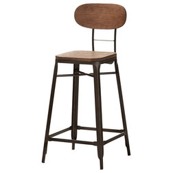 Industrial Bar Stools And Counter Stools by Baxton Studio