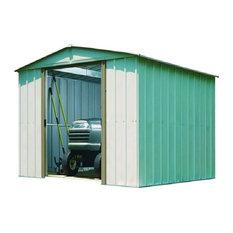 Arrow Galvanized Steel Storage Shed, 10'x10'