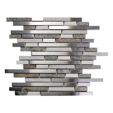 "Oddysey Tundra Interlocking Blend Tile, 30 Sq. ft., 12""x12"""