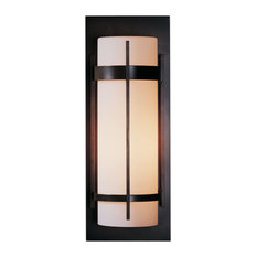 Hubbardton Forge 305894-1015 Banded Large Outdoor Sconce