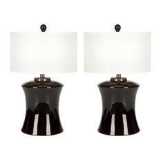 "Safavieh Gary 24""H Ceramic Table Lamps, Set of 2"