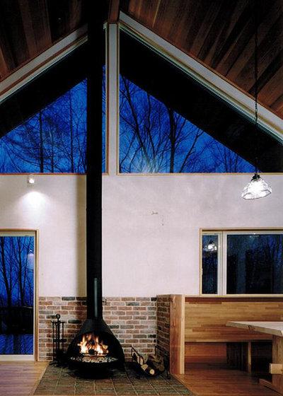 コンテンポラリー  by Planning System CO.LTD.  / S.Wakaki / Architects