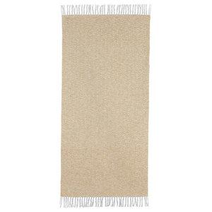 Goose Yellow Vinyl Floor Cloth, 70x200 cm