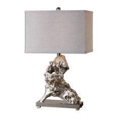 Uttermost Rilletta Metallic Table Lamp, Silver