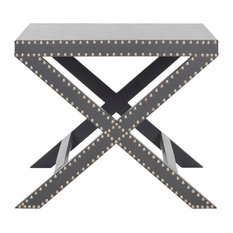 Jeannie End Table Gray