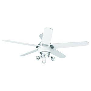 Hunter Lemoyne Ceiling Fan, White, 132 cm