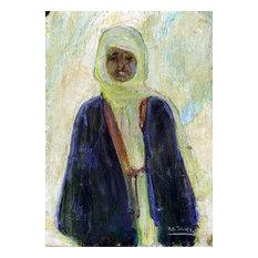 "Henry Ossawa Tanner Moroccan Man 18""x27"" Premium Canvas Print"