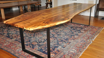 Live Edge Spalted Hickory Dining Tables
