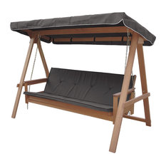Avoca 3 Seat Porch Swing Daybed