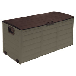 Contemporary Deck Boxes And Storage by STARPLAST
