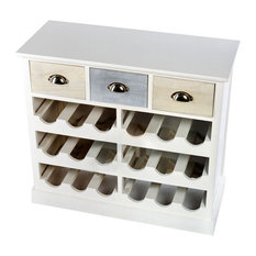 Wine Cabinet With 3 Drawers