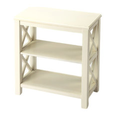 Dusty Trail Vance Bookcase, White