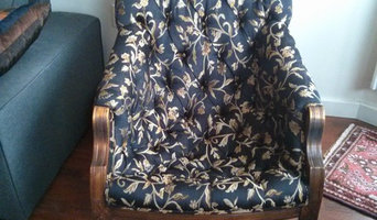 Reupholster Tufted Armchair