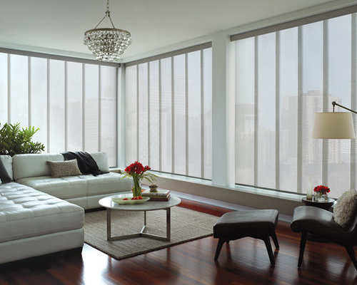 Modern window treatments home design ideas renovations - Modern window treatment ideas ...