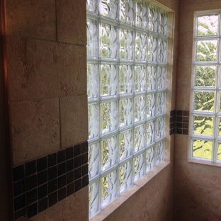 Glass Block Shower Houzz