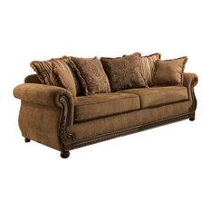 Lane Home Furnishings - Simmons Upholstery Outback Chocolate Sofa - Sofas