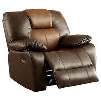 Lisbeth 360 Swivel Leatherette Recliner Chair