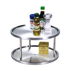 "Cook N Home 10-1/2"" 2 Tier Lazy Susan"