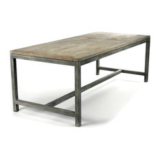 Industrial Dining Room Tables Houzz