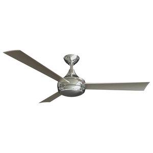 Matthews Atlas Donaire Wet Location Ceiling Fan With LED Light Kit, 132 cm, Brus