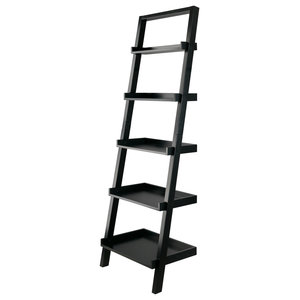 Bellamy Leaning Shelf Black