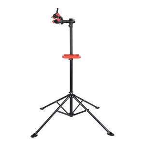 "41"" To 75"" Adjustable Bicycle Repair Stand, Telescopic Arm Cycle Bike Rack"