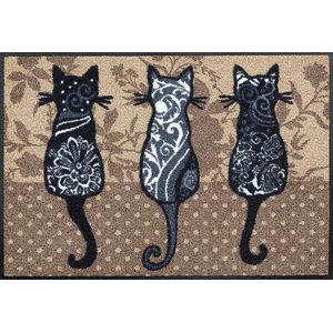 Cat Tails Door Mat, 75x50 cm