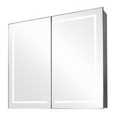 Briony Ambient Light Demisting Bathroom Cabinet, Built-In Speakers
