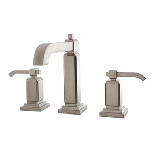 Pfister Carnegie 1.2 GPM Widespread Bathroom Faucet, Brushed Nickel